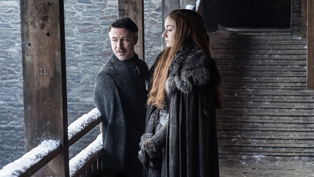 Littlefinger und Sansa in Game of Thrones