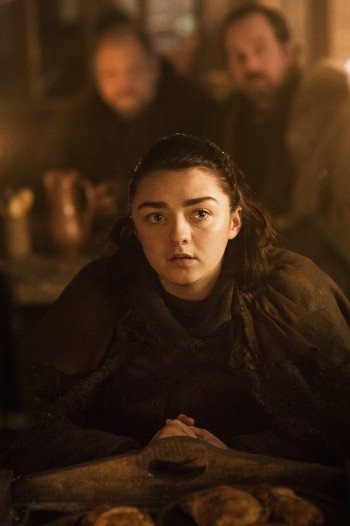 Arya Stark (Maisie Williams) in der siebten Staffel von Game of Thrones