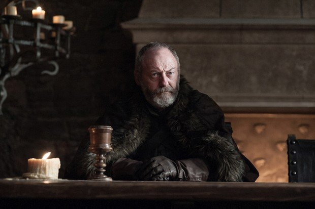 Davos Seaworth (Liam Cunningham) in Game of Thrones