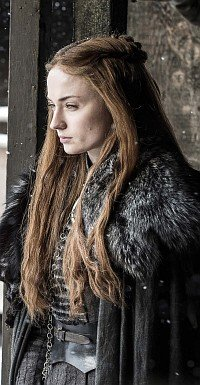 Sansa Game of Thrones Stumgeboren