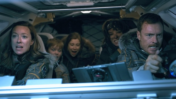 Familie Robinson in Lost in Space